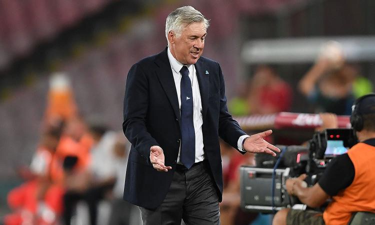 Napoli contro la bestia nera Pioli: ecco cosa chiede De Laurentiis ad Ancelotti