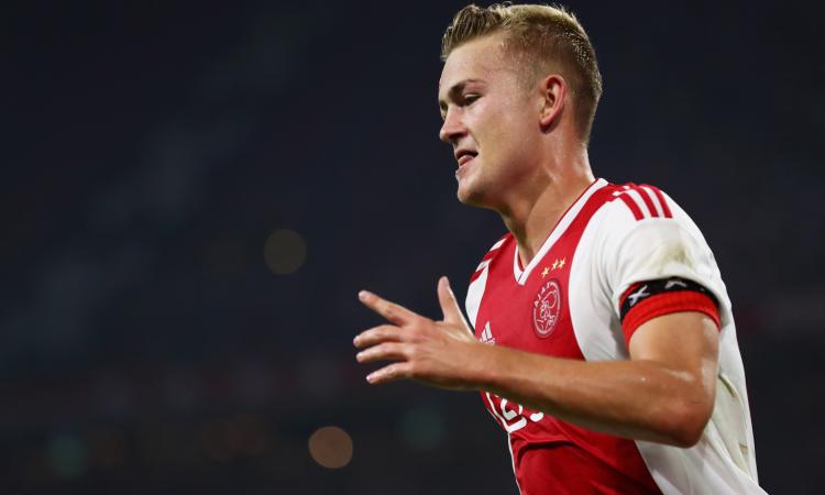 De Ligt, affare da 80 milioni che fa tutti contenti: Ajax, Juve e Raiola
