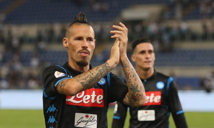 Hamsik: 'Cori contro Napoli fanno male. Insigne capitano? Non è Maradona'