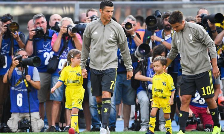 Juve, i numeri dell'esordio di Ronaldo in Serie A