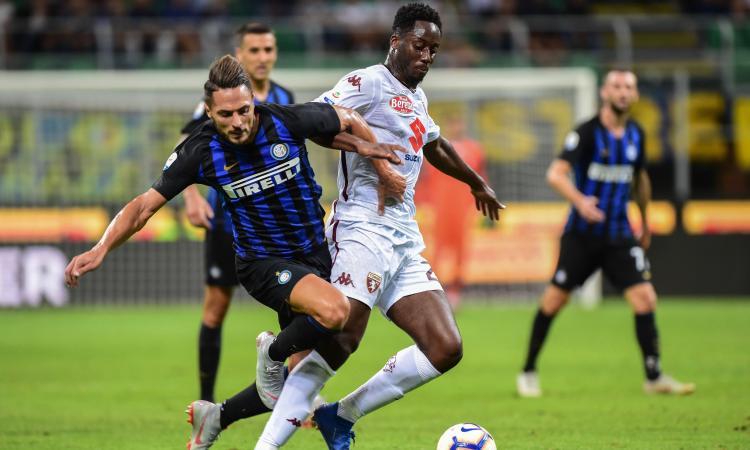 Inter, D'Ambrosio sostituito a causa di un infortunio