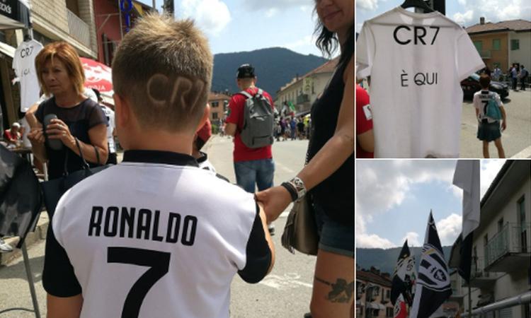 Juve a Villar Perosa: rivivi la giornata dell'attesa del debutto di Cristiano Ronaldo in bianconero FOTO e VIDEO
