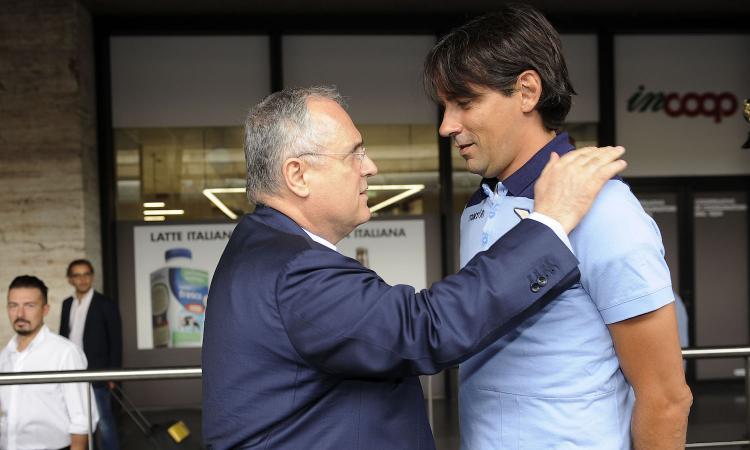 Lotito: 'Il Milan voleva Tare, ma alla Lazio si lavora meglio. Inzaghi, il ciclo non è finito. Milinkovic via se lo vuole'