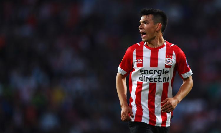 PSV: mezza Europa vuole Lozano