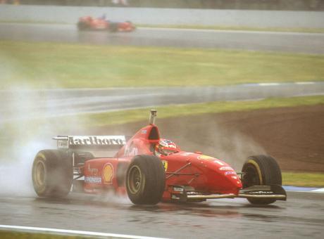 PIT STOP: 1996, la più bella corsa di Michael Schumacher FOTO E VIDEO