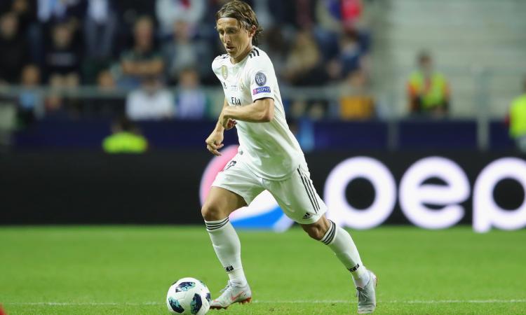 Inter, l'agente di Modric e quel blitz a San Siro