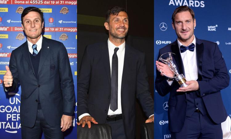 Maldini dopo Zanetti, Totti, Nedved e Antognoni: è dura essere una bandiera