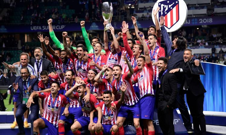Supercoppa Europea all'Atletico Madrid, battuto 4-2 il Real Madrid