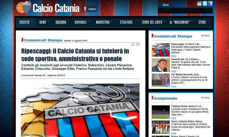 Catania, UFFICIALE il ricorso sui ripescaggi: 'Ci tuteleremo in sede sportiva e penale'
