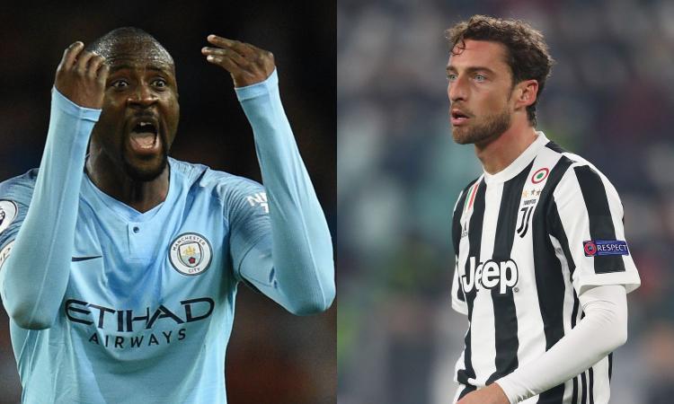 Da Touré a Marchisio, la top 11 degli svincolati: è caccia all'affare