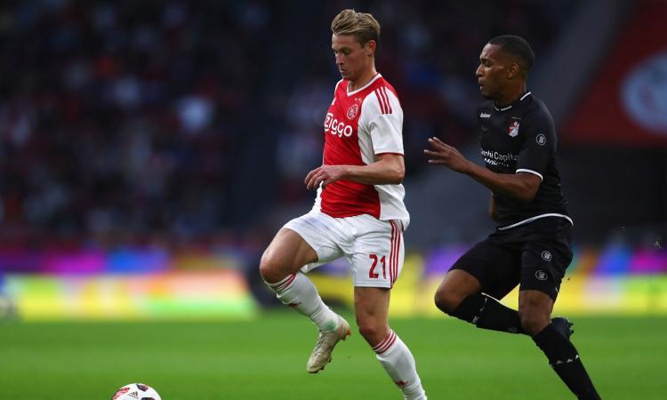 Inter e Juve, parla de  Jong: 'Resto all'Ajax, ma...'