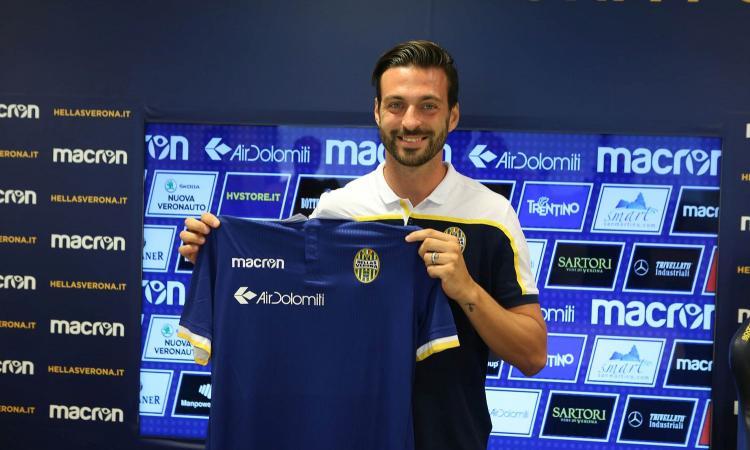 Verona, ecco Di Carmine: 'E' stato facile scegliere l'Hellas'