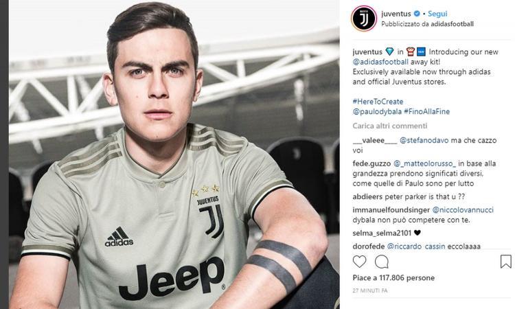 Seconda Maglia Juventus acquisto