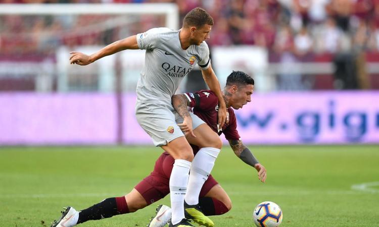Roma, Dzeko: 'Gol alla van Basten, ma ne ho fatti di più belli. Kluivert? E' forte'