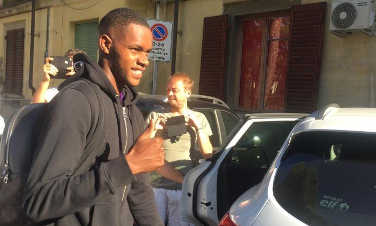 Fiorentina, visite per Edimilson: 'Contento di essere qui, forza Viola' VIDEO