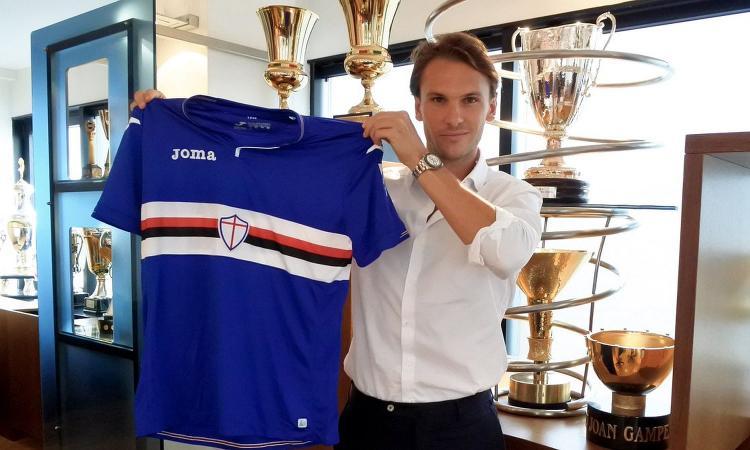 Terza Maglia Sampdoria RICCARDO SAPONARA