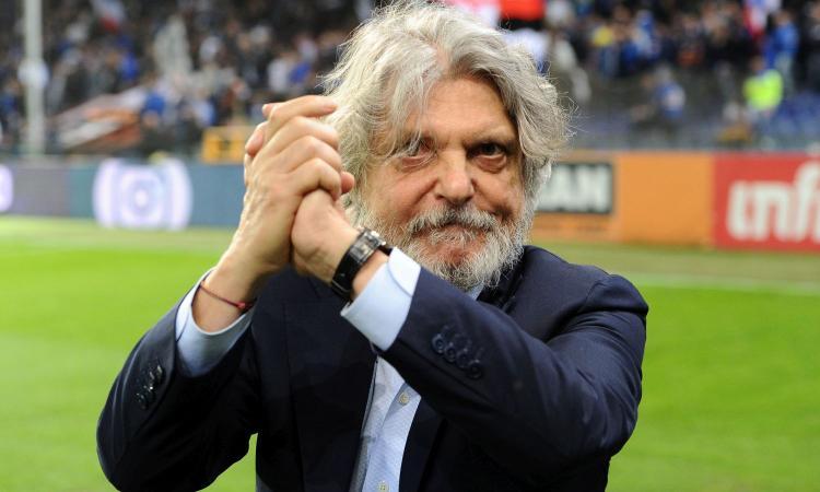 Ferrero show: 'Non ho venduto e non vendo la Samp. Spalletti? Gli farei fare l'attore, o il mimo. Su Schick e Icardi...'