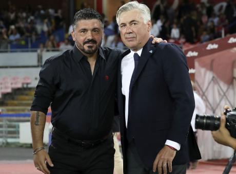 Ancelotti sbaglia formazione, Gattuso azzecca tutto: il Milan è da Champions