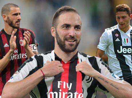 Higuain e Caldara dentro, Bonucci via: l'affare lo fa il Milan. Juve, perché?