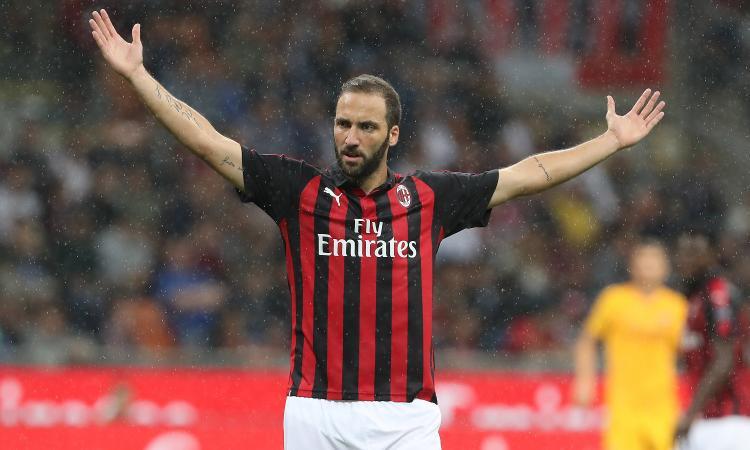 L'enciclopedia della Serie A: Higuain nel Milan torna al centro, non solo in campo