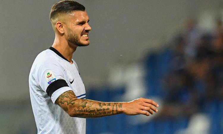 Inter, Icardi torna ad Appiano: col Parma...