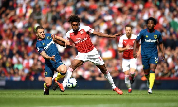 Arsenal, bufera social su Iwobi