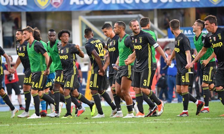 Nel giorno di CR7 decide Bernardeschi: Juve, 3-2 col brivido al Chievo