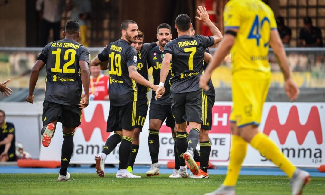 Sofferta vittoria della Juve alla prima