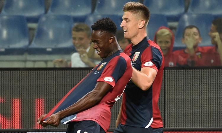 Genoa, Kouamé: 'Inter? Non ero ancora pronto. Idoli Eto'o e Drogba'