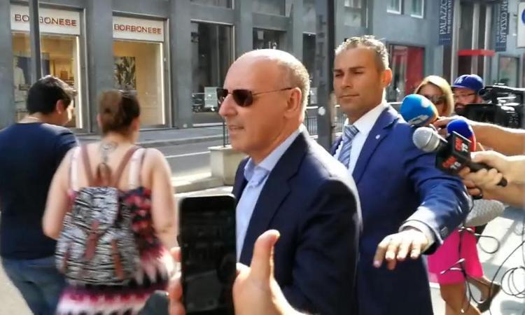 Marino: 'Marotta? Il Napoli se l'è fatto sfuggire, c'è un motivo'