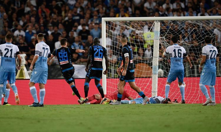 Lazio-Napoli, la MOVIOLA: annullato un gol a Milik