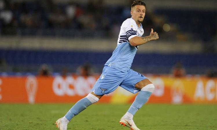 Lazio, Milinkovic: 'Mourinho in tribuna a spiarmi? Fa piacere...'