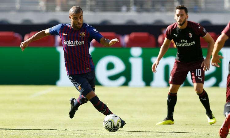 Dalla Spagna: Inter, può essere Rafinha il colpo di fine mercato