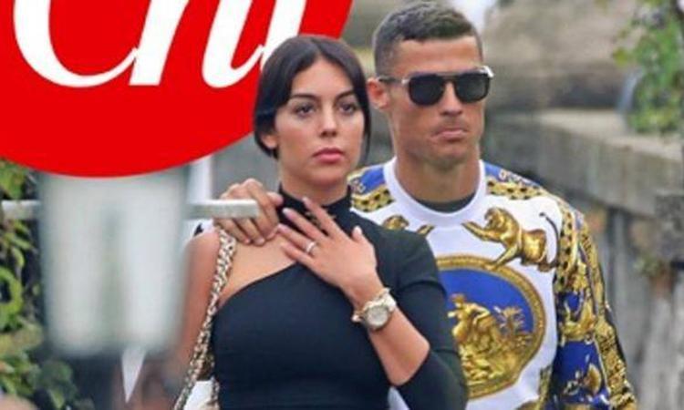 Cristiano Ronaldo, relax da sogno con Georgina sul Lago di Como FOTO