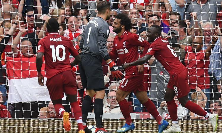 Premier: poker del Liverpool contro il West Ham. Southampton-Burnley 0-0