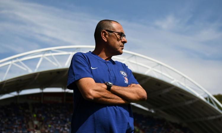 Chelsea, Sarri: 'Higuain piccolo rimpianto. De Laurentiis parla sempre di me? Si vede che gli manco...' VIDEO