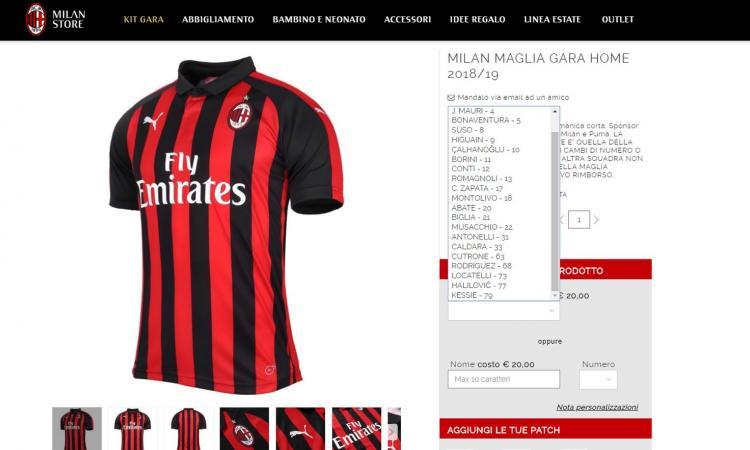 André Silva verso il Siviglia: il Milan toglie dallo store la sua maglia
