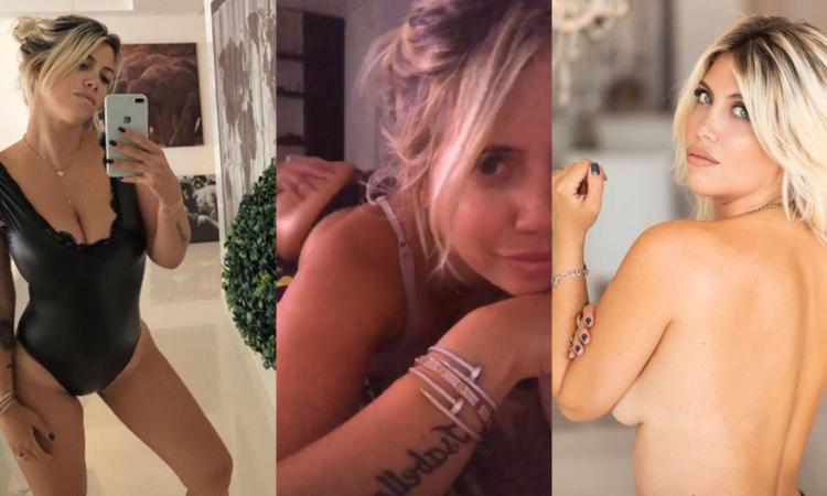 Icardi a Madrid con l'Inter? Wanda si consola con massaggi hot VIDEO