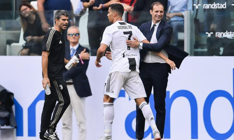 Juve, tutti contro Allegri: ma non è il caso di iniziare a discutere Ronaldo?