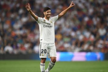 Asensio braccia al cielo Real Madrid