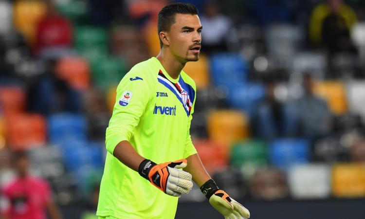 La Sampdoria al lavoro per il riscatto di Audero dalla Juve