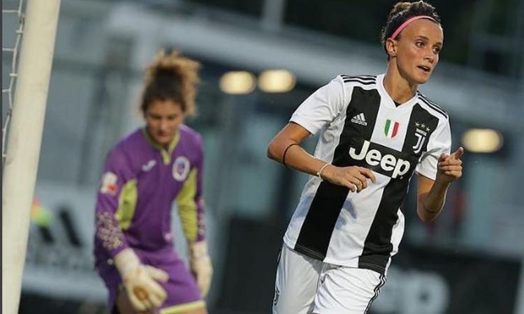 Bonansea scatenata salva le J Women al debutto in Champions: 2-2 al Broendby