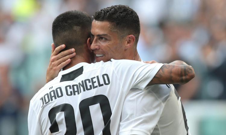 Cancelo: 'Ronaldo fa la storia ovunque. Bonucci e Chiellini i migliori al mondo' VIDEO