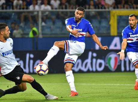 Sampdoria, l'Atalanta in pressing per Defrel