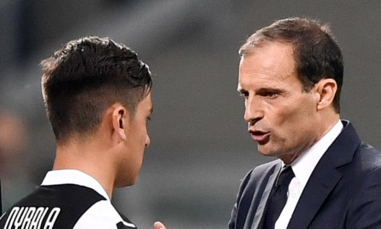 Juve-Sassuolo, le formazioni ufficiali: sorprese Dybala e Khedira, c'è Djuricic