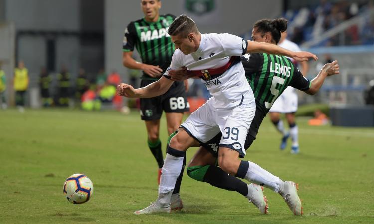Genoa, Favilli: 'Sento la fiducia di Prandelli, col Milan...'
