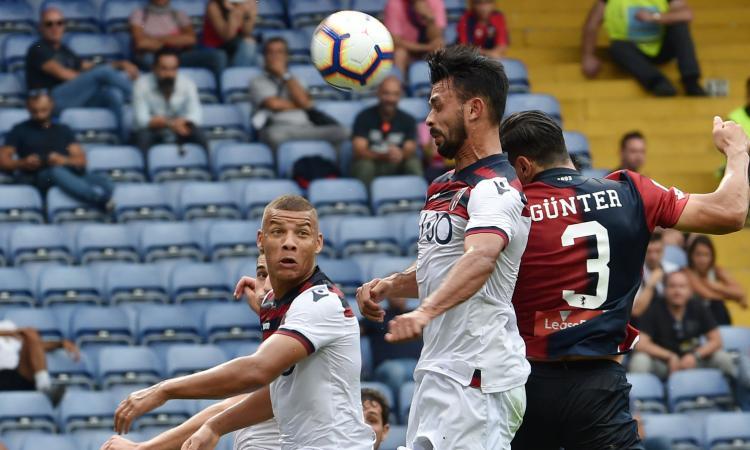 Genoa, Gunter: 'Radu è un grande giocatore. Gli errori capitano'