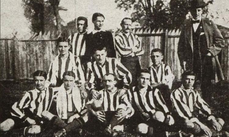 1914, Inter e Juve si giocano la Coppa Enotria, mentre soffiano venti di guerra