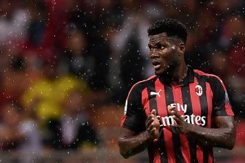 Kessie applauso Milan