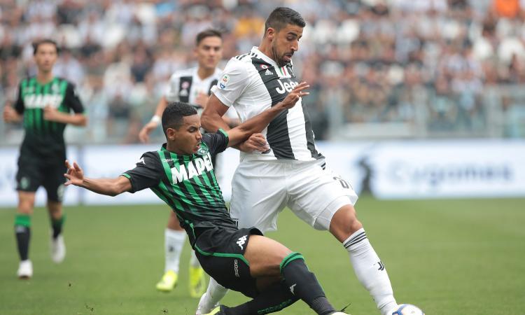 Juventus-Sassuolo 2-1: il tabellino